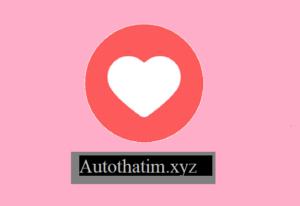 Ứng dụng tự thả tim facebook