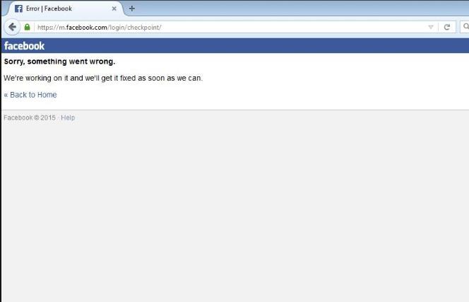 Cách mở unlock checkpoint trắng facebook